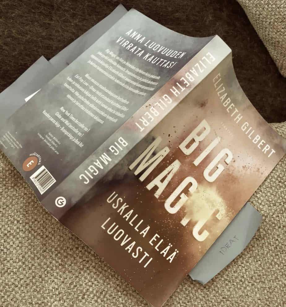 Big Magic, Elisabeth Gilbert, Kirjoittajakoulun Lukupiiri netissä